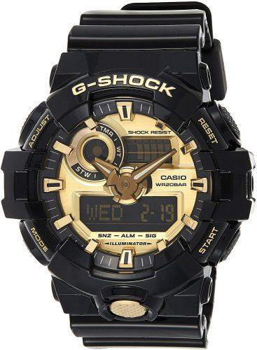 Casio G Shock Quartz Resin Watch