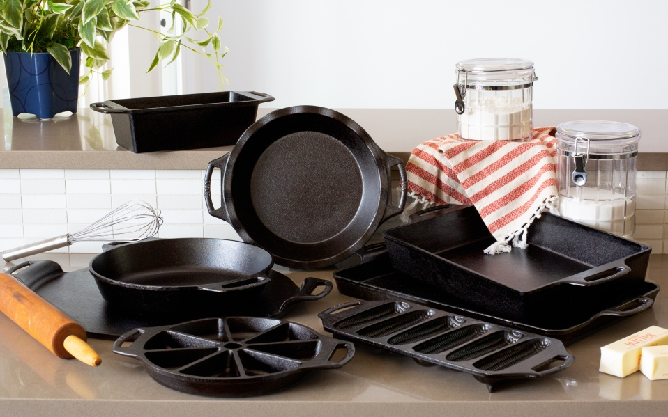 Lodge Cast-Iron Bakeware Collection
