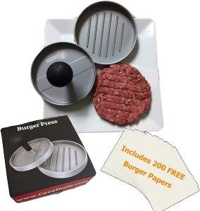 cave tools burger press