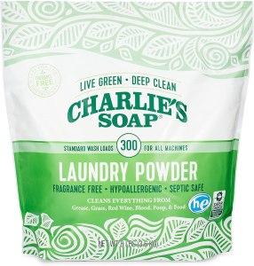 best laundry detergent charlies soap powder