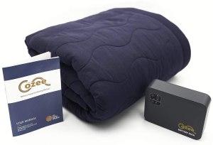 stadium blankets cozee battery powered heated