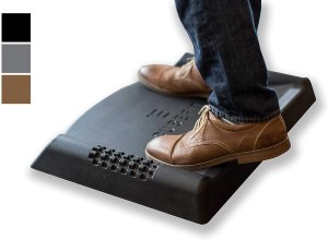 CubeFit TerraMat anti-fatigue mat, desk exercise equipment