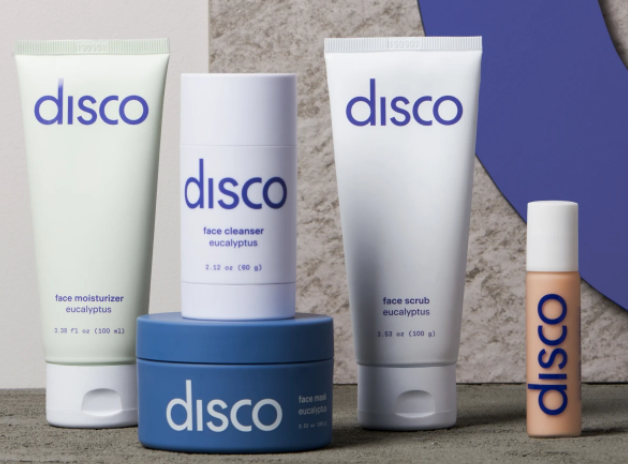 disco skin care regimen set