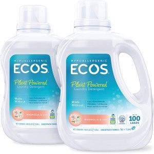 ecos hypoallergenic laundry detergent