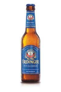 Erdinger Weissbier non-alcoholic beer, best non-alcoholic beer
