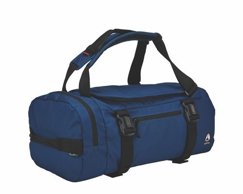 nixon escape duffel in blue black