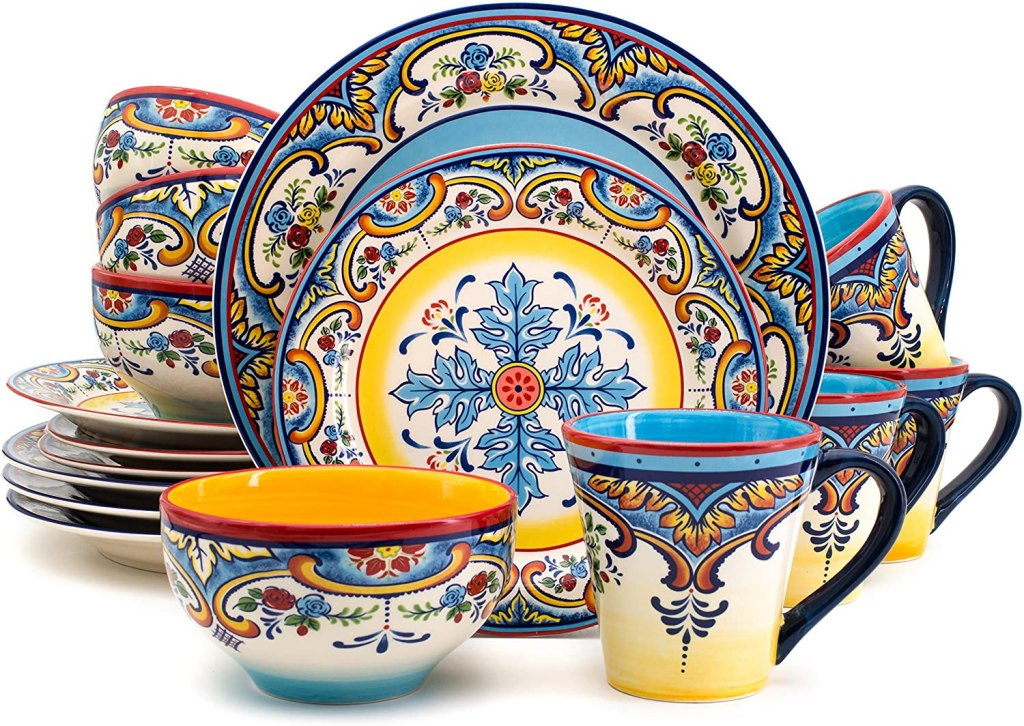 euro ceramic zanzibar collection dinnerwear