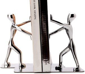Fasmov Heavy Duty Stainless Steel Man bookends