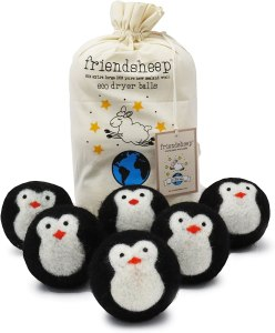 eco friendly gifts friendsheep wool dryer balls