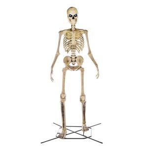 giant skeleton, 12-foot tall skeleton, halloween decorations