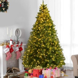 GoPlus pre-lit christmas tree