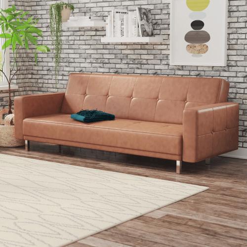 wade logan reclining sleeper sofa