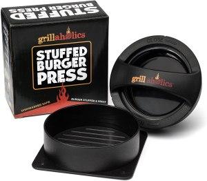 best burger press grillaholics stuffed burger press
