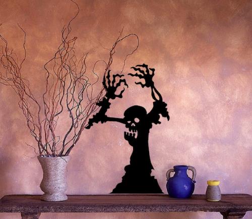 Halloween Ghoul Wall or Window Decal