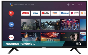 Hisense 32-inch H55 Series Android Smart TV, best small tvs 2021
