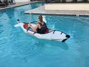 Inlet folding kayak review