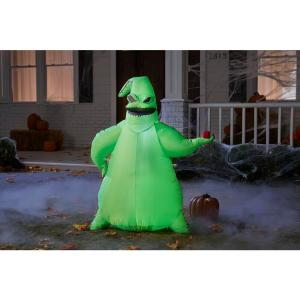 inflatable halloween oogie boogie decoration, scary halloween decorations