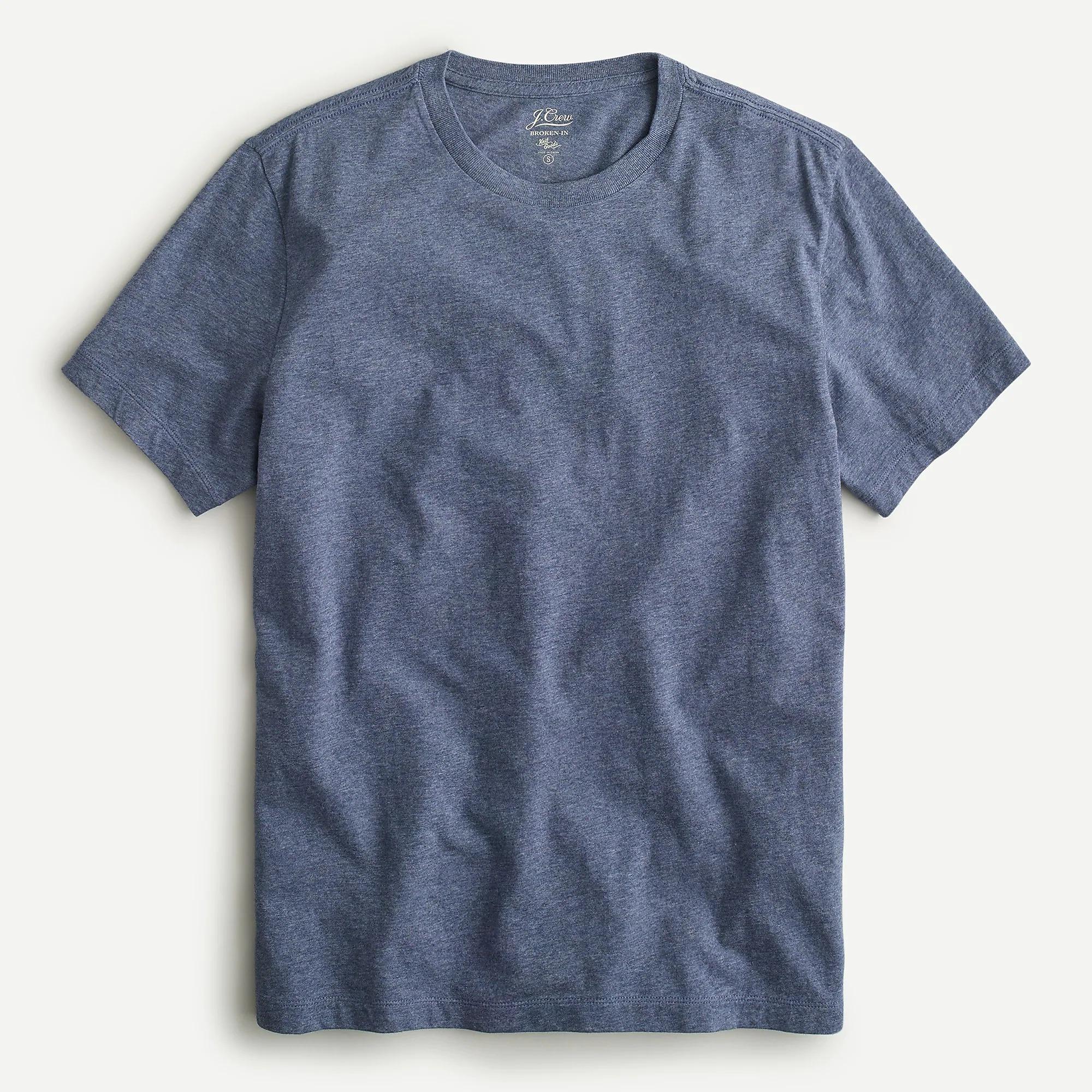 J. Crew Broken-in Short-sleeve T-shirt; best men's pajamas