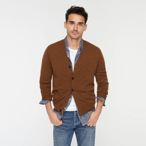 J.crew cashmere cardigan sweater for men