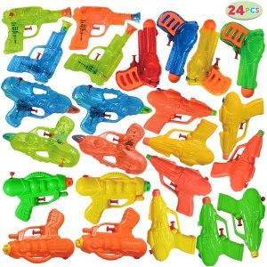 joyin 24 pack assorted water guns