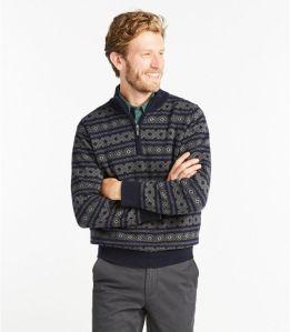 L.L.Bean cotton cashmere sweater