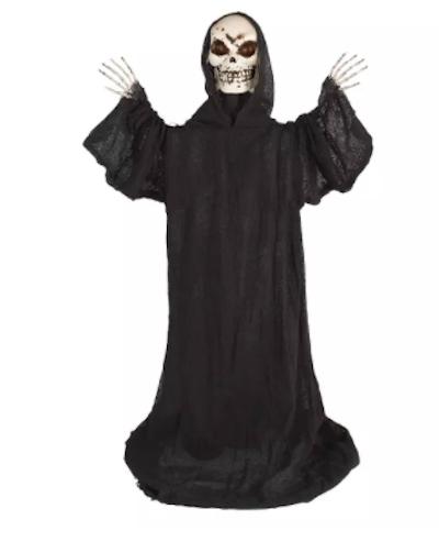 Large Standing Black Reaper Halloween Decoration