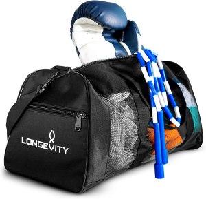 longevity gear mesh bag, best gym bags