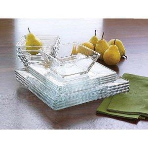 dinnerware sets mainstays glass, best dinnerware sets