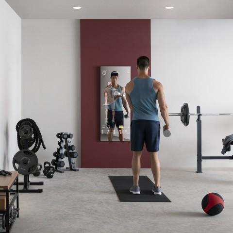 Mirror smart home gym device, best smart home gym