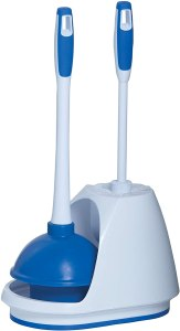 Mr. Clean Turbo Plunger and Bowl Brush Caddy Set