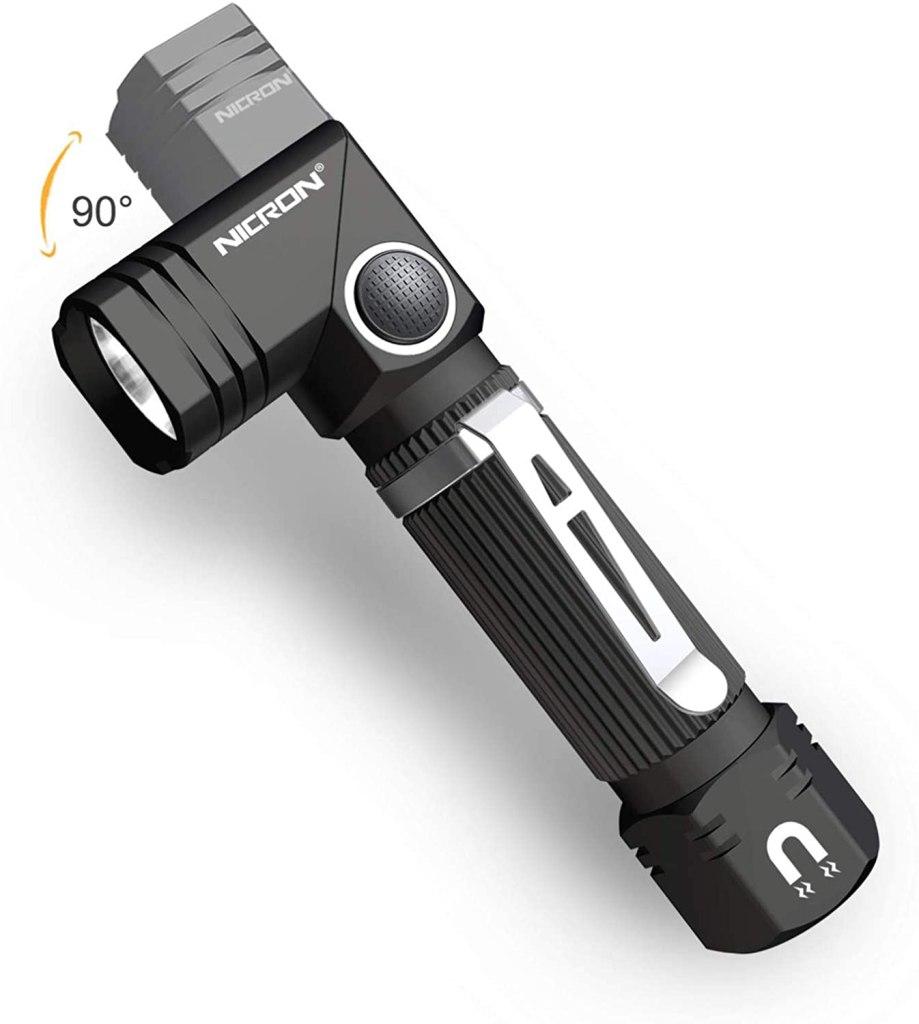 NICRON N7 600 Lumens Tactical Flashlight