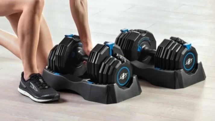 NordicTrack Adjust-A-Weight Dumbbells