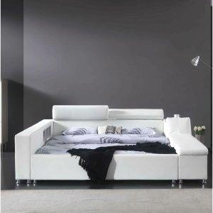 orren ellis luxury bed