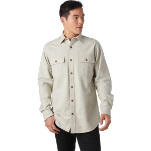 Stoic Heavyweight Solid Flannel Shirt