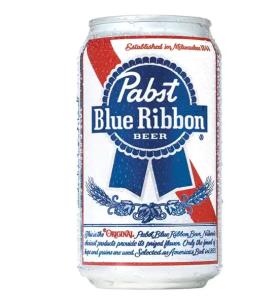 Pabst Blue Ribbon summer beer