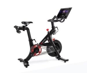 Peloton bike, smart home gym