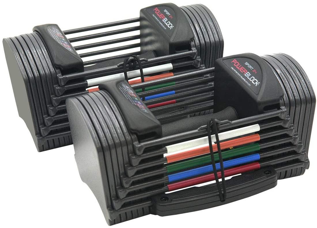 PowerBlock sport 25 adjustable dumbbells