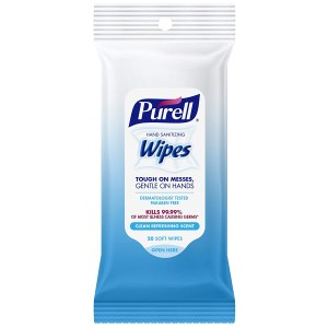 Purell Hand Sanitizing travel wipes