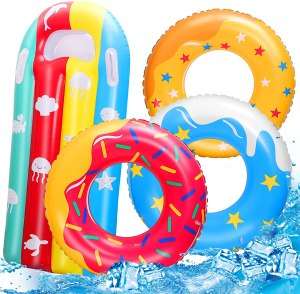 RichSmile inflatable pool toys, best pool toys