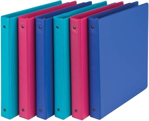 Samsill binders, back to school shopping