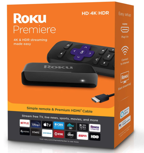 roku premiere streaming devices