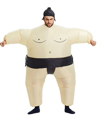 TOLOCO Inflatable Adults Sumo Wrestling Costume
