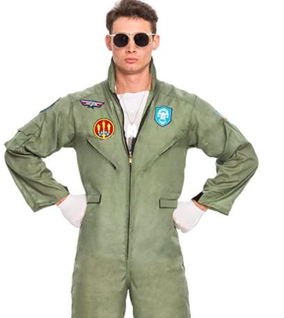 Spooktacular Creations Men's Flight Pilot Costume