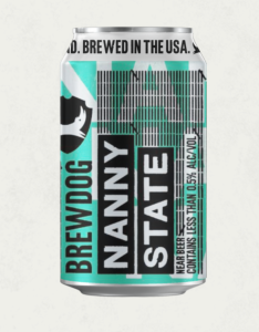 BrewDog Nanny State beer, non-alcoholic beer, best non-alcoholic beer