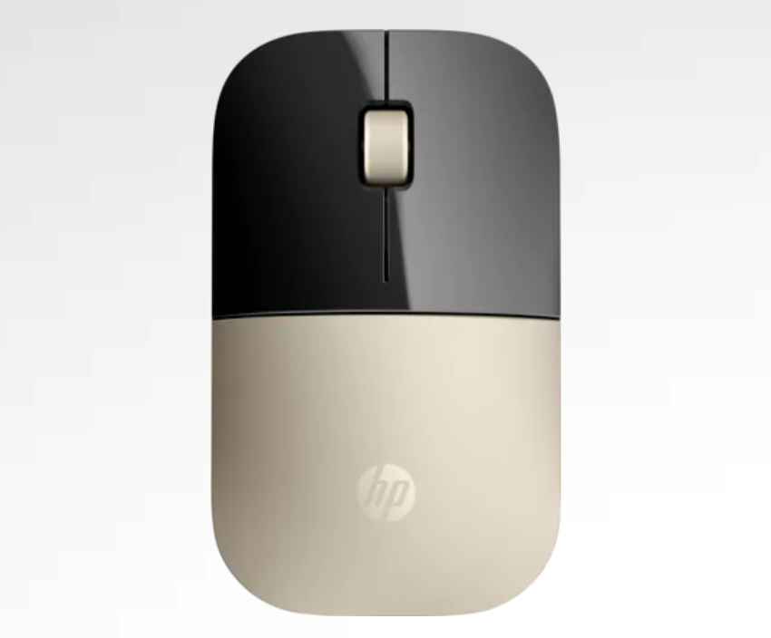 hp gold wireless mouse