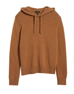 rag & bone beige haldon cashmere hoodie, best cashmere sweaters for men