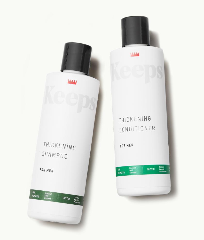 Keeps Thickening Shampoo & Conditioner