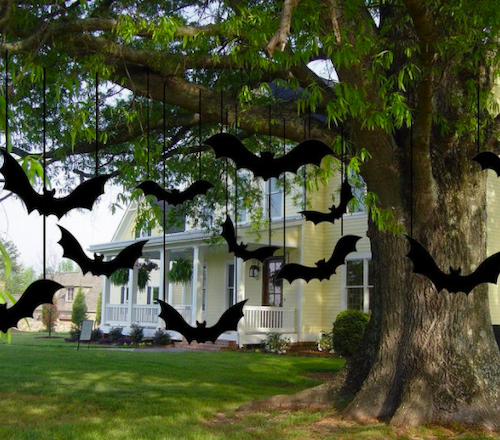 Lovely Cute Studio 12 Black Scary Decorative Bats