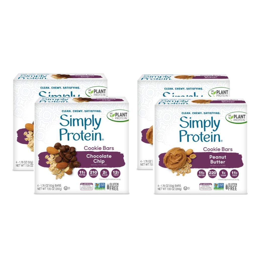 SimplyProtein Cookie Bar Variety Pack