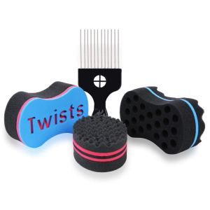 SpongeX Hair Twist Sponges